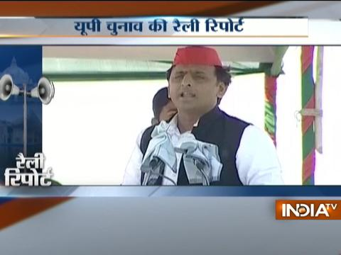 Akhilesh challenges PM Modi to debate on development in UP