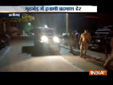 UP: Criminal shot dead in an encounter with Aligarh police