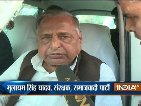 Samajwadi Party will form govt with majority, claims Mulayam Singh Yadav