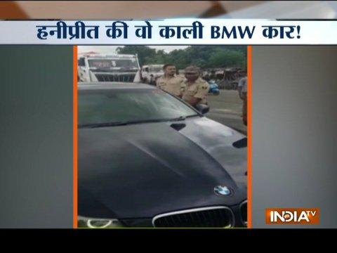 Honeypreet Insan's BMW found near Nepal-Bihar border?