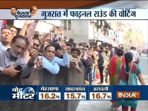 Gujarat Election Phase 2: PM Modi to cast his vote in Ahmedabad shortly, excitement among public