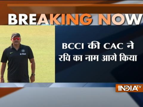 Ravi Shastri appointed new head coach of Indian cricket team