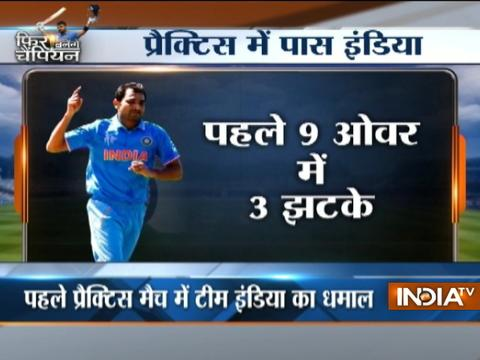 Cricket Ki Baat: Virat's india passed in first test of Champions Trophy
