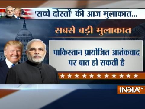 PM Narendra Modi to meet US President Donald Trump for bilateral talks