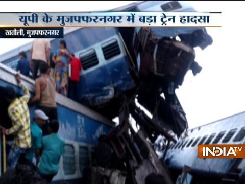 Six coaches of Puri-Haridwar-Kalinga Utkal Express derails in Muzaffarnagar's Khatauli