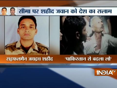 Saharanpur: Family of Rifleman Jayadrath Singh mourns his demise in Pakistani firing