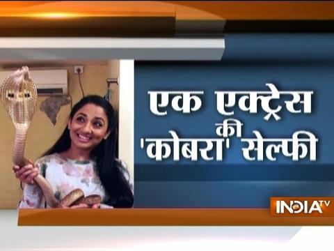 Yakeen Nahi Hota: Actress Shruti Ulfat arrested for posting viral video with cobra snake