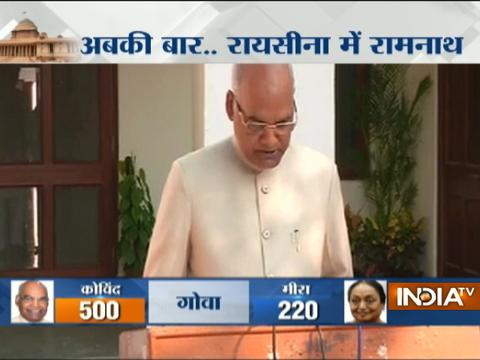 This is an emotional moment for me today says President Elect Ram Nath Kovind