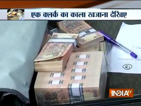 Around Rs 3 crore black money, flats, etc sized from a clerk of Hyderabad Nagar