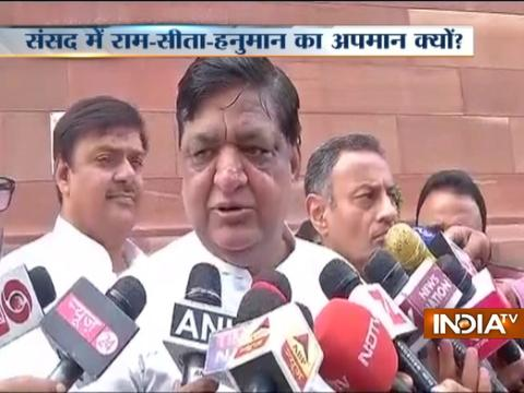 MP Naresh Agarwal apologises for remark says he didn't want to hurt anyone