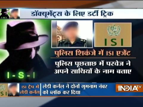 Delhi Police Arrests ISI Agent Mohammad Parvez for blackmailing Lady Colonel