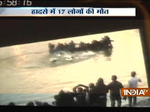 Patna boat capsize incident: Death toll rises to 18