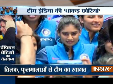 Beginning Of Good Times For Women's Cricket in India: Mithali Raj and Co arrive in Mumbai