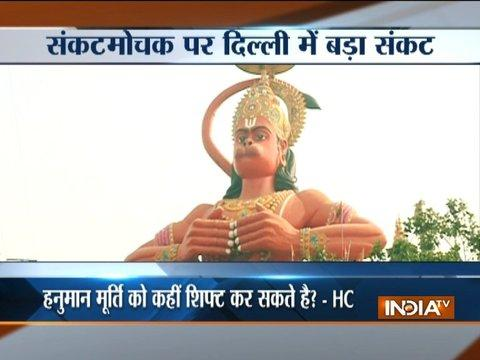 Delhi High Court suggests airlifting Karol Bagh's 108-foot Hanuman statue