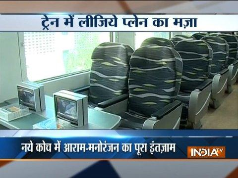 Indian Railways to unveil ultra-luxury Anubhuti coaches for Shatabdi trains, know about them