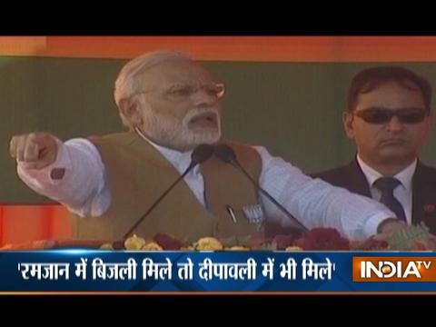 'If There Is Electricity In Ramzan, It Should Also Be There On Diwali, says PM Modi