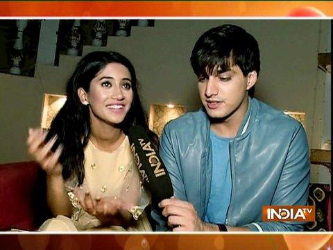 Mohsin Khan and Shivangi Joshi celebrate Diwali with SBAS