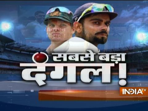 India vs Aus: Starc fifty pushes Australia to 256/9 on day 1