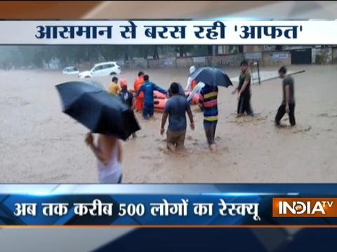 Heavy rain, floods wreak havoc in parts of Gujarat, rescue operation continues