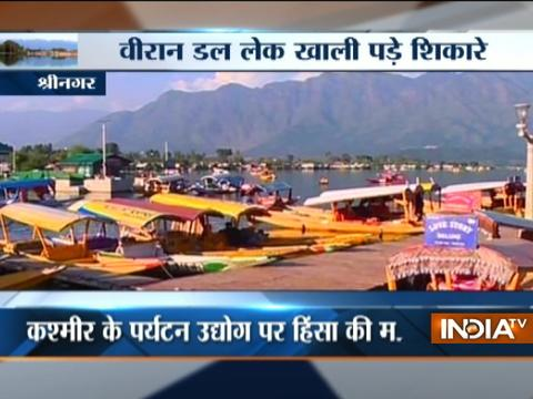 Kashmir: Tourism sector badly hit due to unrest