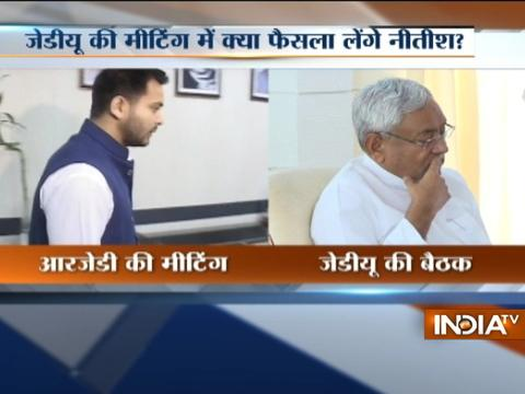 Nitish Kumar calls-up a Cabinet meet, fate of Bihar coalition govt likely to be decided today