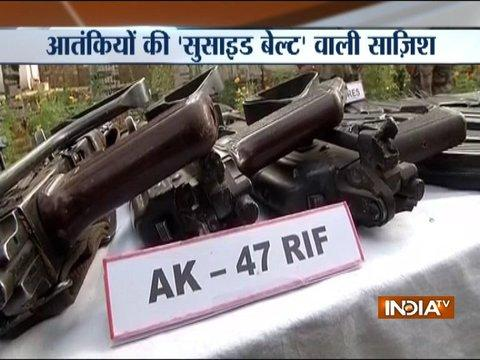 Major terror bid foiled in Uri, 4 terrorists shot-down, arms and ammunition recovered