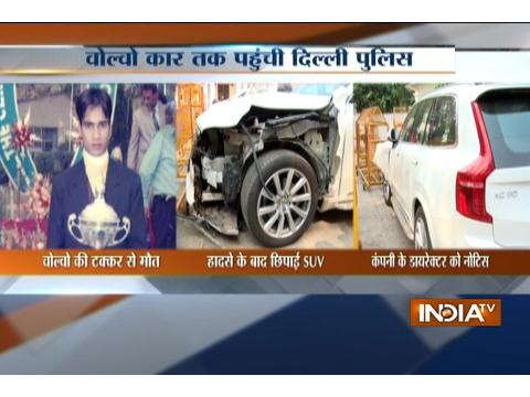 Delhi: Man allegedly rammed his high end Volvo SUV car into a scooter and