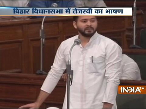 Govt formed with the help of BJP is murder of democracy, says Tejashwi Yadav in Bihar Assembly