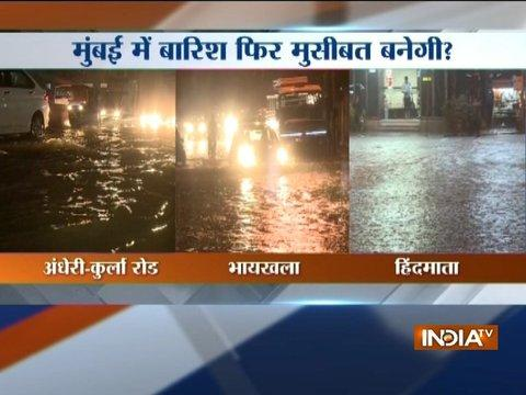 Heavy rains lash Mumbai, waterlogging in parts of the city