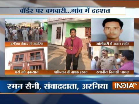 Jammu and Kashmir: Jawan martyred, civilian injured in Pakistani firing along LoC
