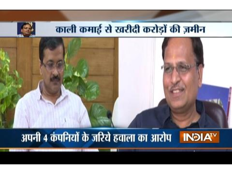 Delhi minister Satyendar Jain under I-T scanner, summons issued