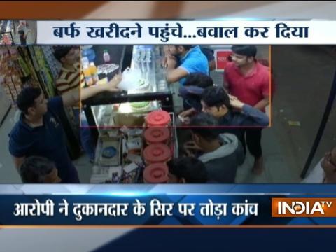 Haryana: Drunk boys beat shopkeeper, vandalize shop in Faridabad
