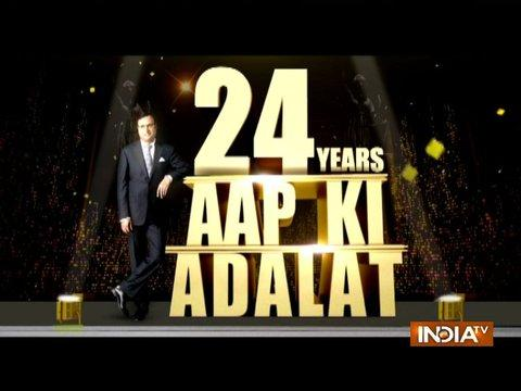 24 Years of Aap Ki Adalat: India TV Editor-in-chief Rajat Sharma appears in the court of children