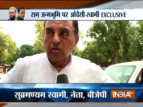 Subramanian Swamy is happy with the early hearing of Ram Janmabhoomi-Babri Masjid matter