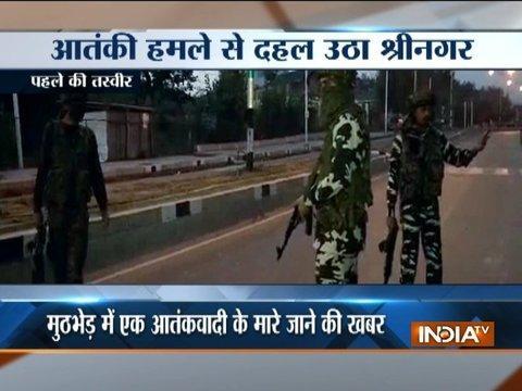 Militants attack BSF camp near Srinagar airport