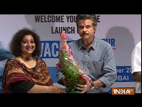 Anil Kapoor visits Chembur for Swacch Bharat Abhiyaan project