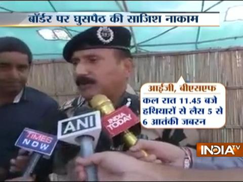 CCTV footage of infiltration at LoC released