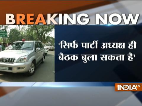 Akhilesh Yadav orders his party members not to attend any meeting without his consent