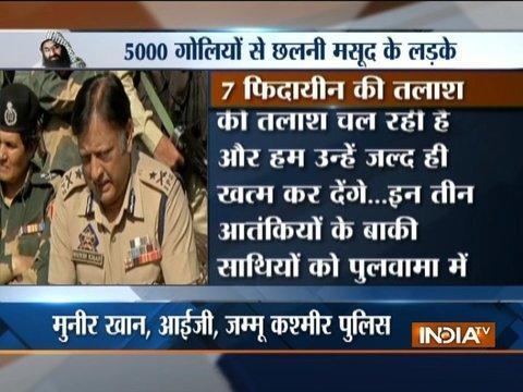 All 3 Terrorists who attacked BSF camp in Srinagar killed