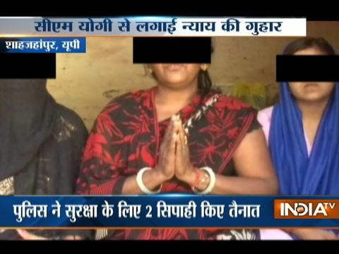 Fear of historysheeter forces a family to lock themselves inside the house In Shahjahanpur