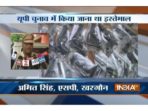 Aligarh youths held with 20 pistols in Madhya Pradesh