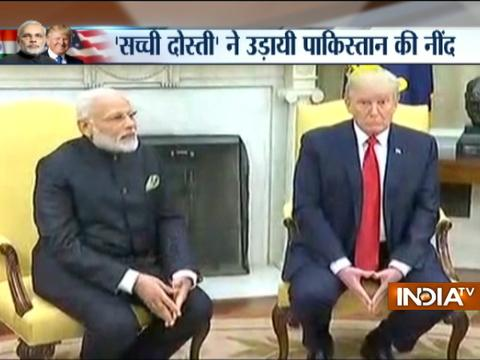Resolve to destroy radical Islamic terrorism says Trump in joint press statement with PM Modi