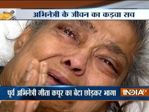 Filmmaker Ashoke Pandit reacts after sick veteran actress Geeta Kapoor abandoned by son