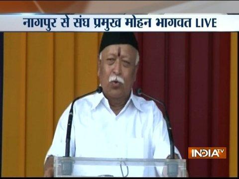 Deeply saddened by incident, my condolences to families of those who lost their lives: Mohan Bhagwat