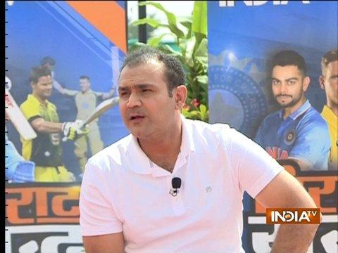 I'm confident India will whitewash Australia 5-0: Virender Sehwag to India TV