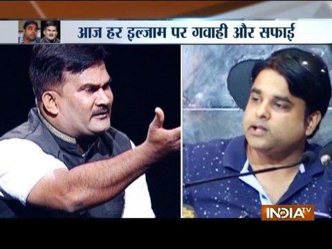 Ex-husband Vishwas Gupta and Dera supporter Sandeep Mishra discuss Honeypreet