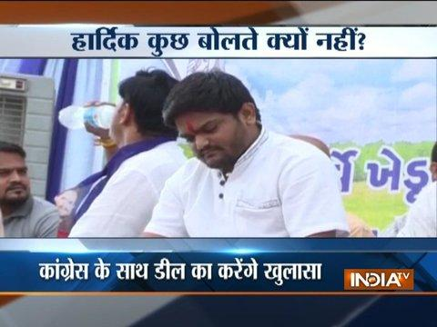 Amid ongoing tussle between PAAS-Congress, Hardik likely to address media today