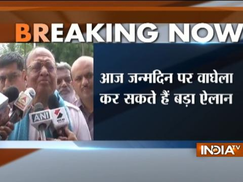 Shankersinh Vaghela likely to resign from Congress on his birthday today