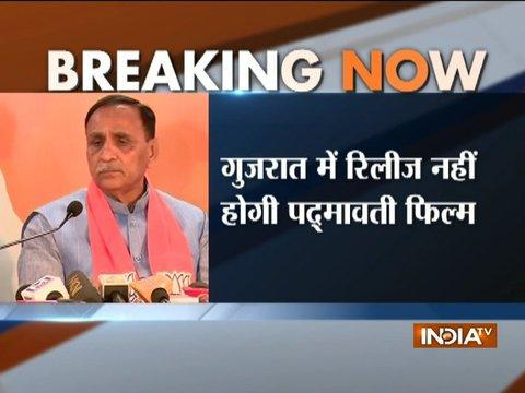Padmavati will not release in Gujarat until controversies are resolved: CM Vijay Rupani