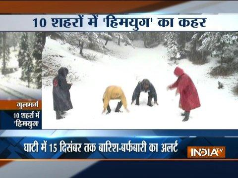 Heavy snowfall in Himachal, Uttarakhand; 5 jawans go missing after avalanche in Kashmir